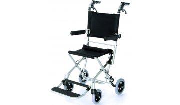 Mechanický transportní vozík s duralovým rámem, skládací