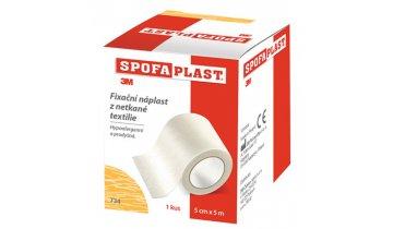 SpofaPlast - náplast na cívce bez polštářku hypoalergenní, různé šířky, délka 5 m