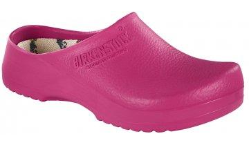 Birkenstock Super Birki, růžová barva - pracovní zdravotní obuv, výměnná stélka