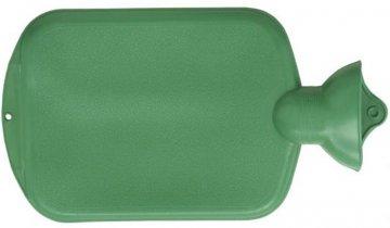 Termofor - ohřívací gumová lahev, hladká, 2 l, různé barvy