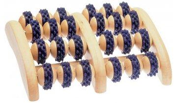 Masážní přístroj s hroty na chodidla