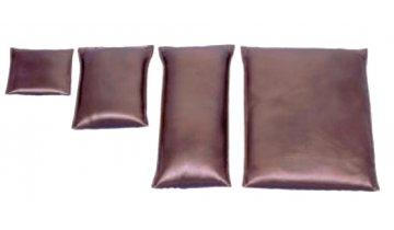 Koženkový sáček s pískem pro snadné polohování, 0,5kg - 7,0kg