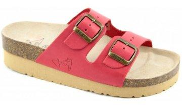 4037 3 pantofle na klinku classic cervene 2002 pk2 4