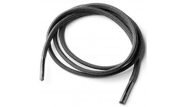 Elastické tkaničky pro seniory, černé, 2 páry v balení (60 cm)