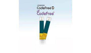 Glukometr SD-CODEFREE PLUS set (přístroj, pero +10 jehliček)