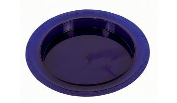 Plastový talíř s vyvýšeným okrajem - DOPRODEJ