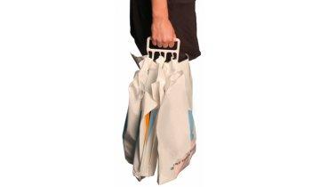 Držák na igelitové tašky plastový - DOPRODEJ