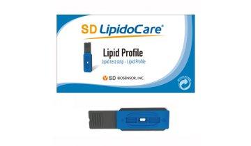 Měřicí proužky pro kompletní Lipidový profil, bal.10ks