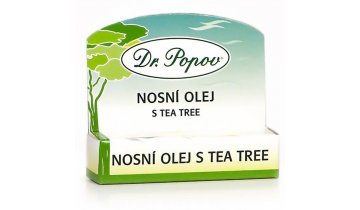 Dr. Popov -   Nosní olej s Tea Tree olejem, 6 ml, roll – on