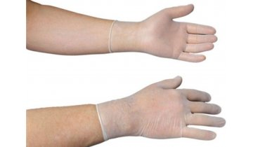 Jednorázové latexové rukavice sterilní, pudrované, 2 ks v balení, vel. 7,5