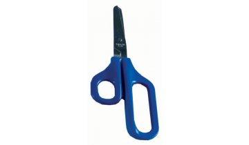Nůžky s velkými otvory pro prsty se zaobl. ostřím, pro praváky, 4,5 cm