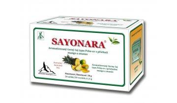 Dr. Popov - Sayonara – aromatizovaný černý čaj, 20 x 1,5 g