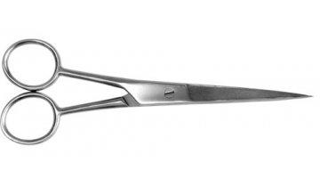 M-SI-008 Nůžky na vlasy, hrotnaté, matné, 15 cm