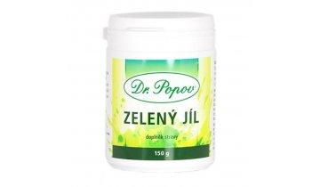 Dr. Popov - Zelený jíl, 150 g, prášek