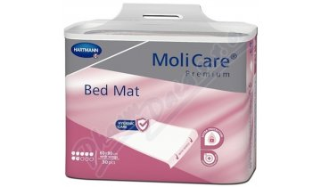 MoliCare BedMat - inkontinenční podložky, 7 kapek, 60 x 90 cm + záložky, 30 ks