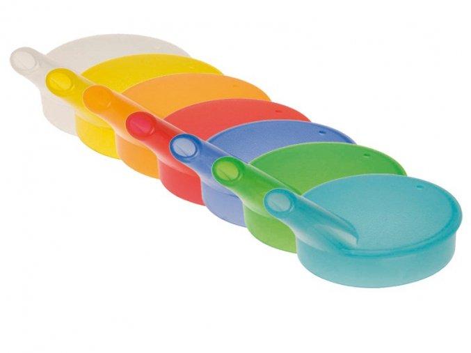 Ergonomické víko na hrnek s úzkým náustkem, různé barvy