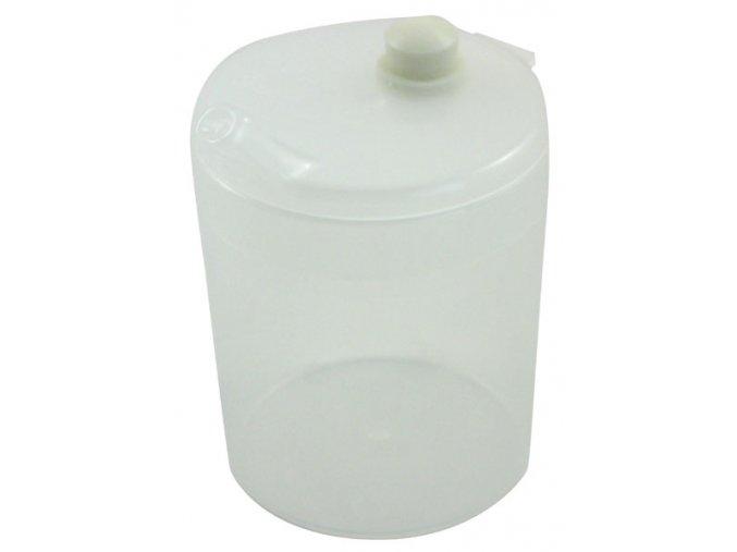 Plastový pohárek s víčkem s ventilem a náustkem