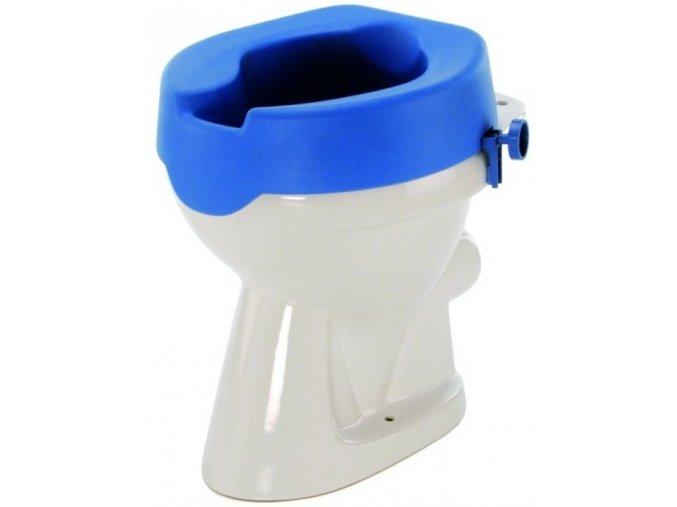 Nástavec na WC vyměkčený, fixační šrouby, 10 cm