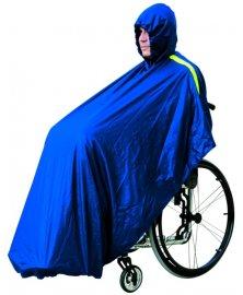 Pláštěnka pro vozíčkáře, modrá