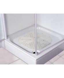 Protiskluzová podložka s přísavkami do sprchy, 55 x 55 cm
