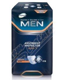 TENA Men Level 3 - inkontinenční vložky pro muže, 16 ks