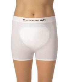 Molipants Soft - fixační kalhotky pro vložné pleny, 5 ks, různé velikosti