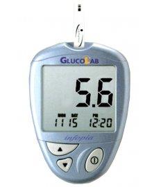 Glukometr GlucoLab + 25 ks testovacích proužků