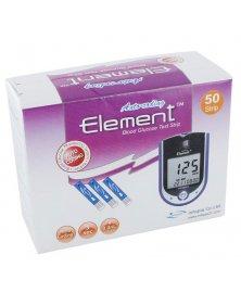 Testovací proužky do glukometru Element Auto-coding, 50 ks