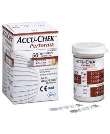 Testovací proužky do glukometru Accu-Chek Performa, 50 ks
