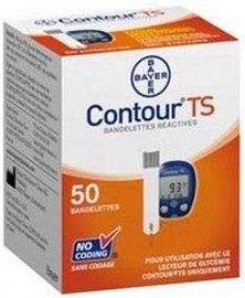 Testovací proužky do glukometru Contour TS, 50 ks