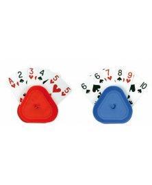 Stojánek na hrací karty pro seniory, 4 ks