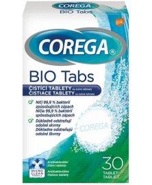 Corega - čistící tablety pro zubní náhrady, 30 tablet