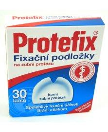 Protefix - fixační podložky pro horní zuby, 30 ks