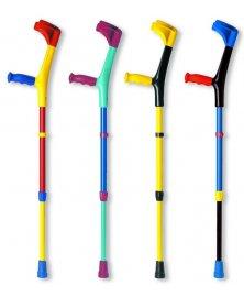 Dětská francouzká berle, různé barvy + trubka v barevném provedení