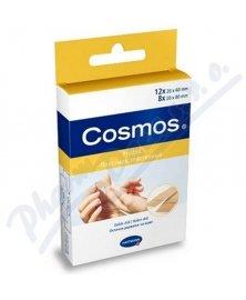 Cosmos - elastická textilní náplast s polštářkem, 20 ks