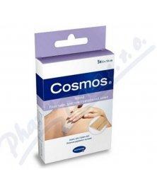 Cosmos Sensitive - textilní náplast s polštářkem pro jemnou pokožku, nedělená, 0,5 m x 6 cm