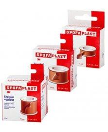 SpofaPlast - náplast na cívce bez polštářku, různé šířky, délka 5 m