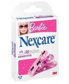 3M Nexcare Barbie - dětské náplasti, 20 ks
