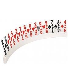 Stojánek na hrací karty pro seniory, délka 17 - 50 cm
