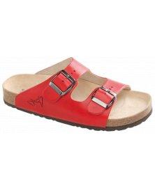 Lucca - zdravotní pantofle, červená, různé velikosti