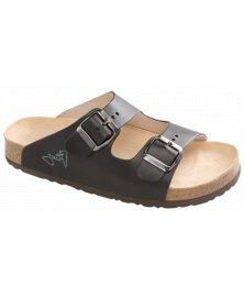 Lucca - zdravotní pantofle, černá, různé velikosti