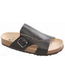 Milano - zdravotní pantofle, černá, různé velikosti