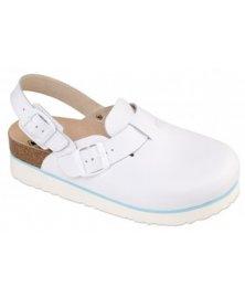 Trento - sandály na klínku, bílá, různé velikosti