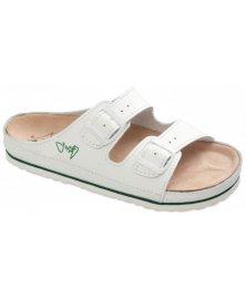 CPR2 - zdravotní pantofle celoobšité, bílá, různé velikosti