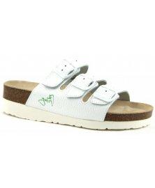 PK3 - zdravotní pantofle na klínku, bílá, různé velikosti