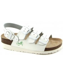 SK3 - sandály na klínku, bílá, různé velikosti