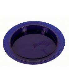 Plastový talíř s vyvýšeným okrajem