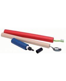 Pěnové trubičky pro pohodlný úchop propisky, průměr 6 mm
