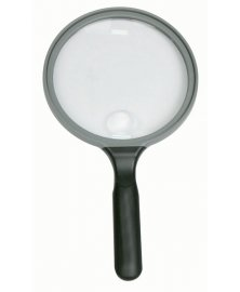 Lupa příložní, průměr 13 cm, zvětšení 2x / 6x