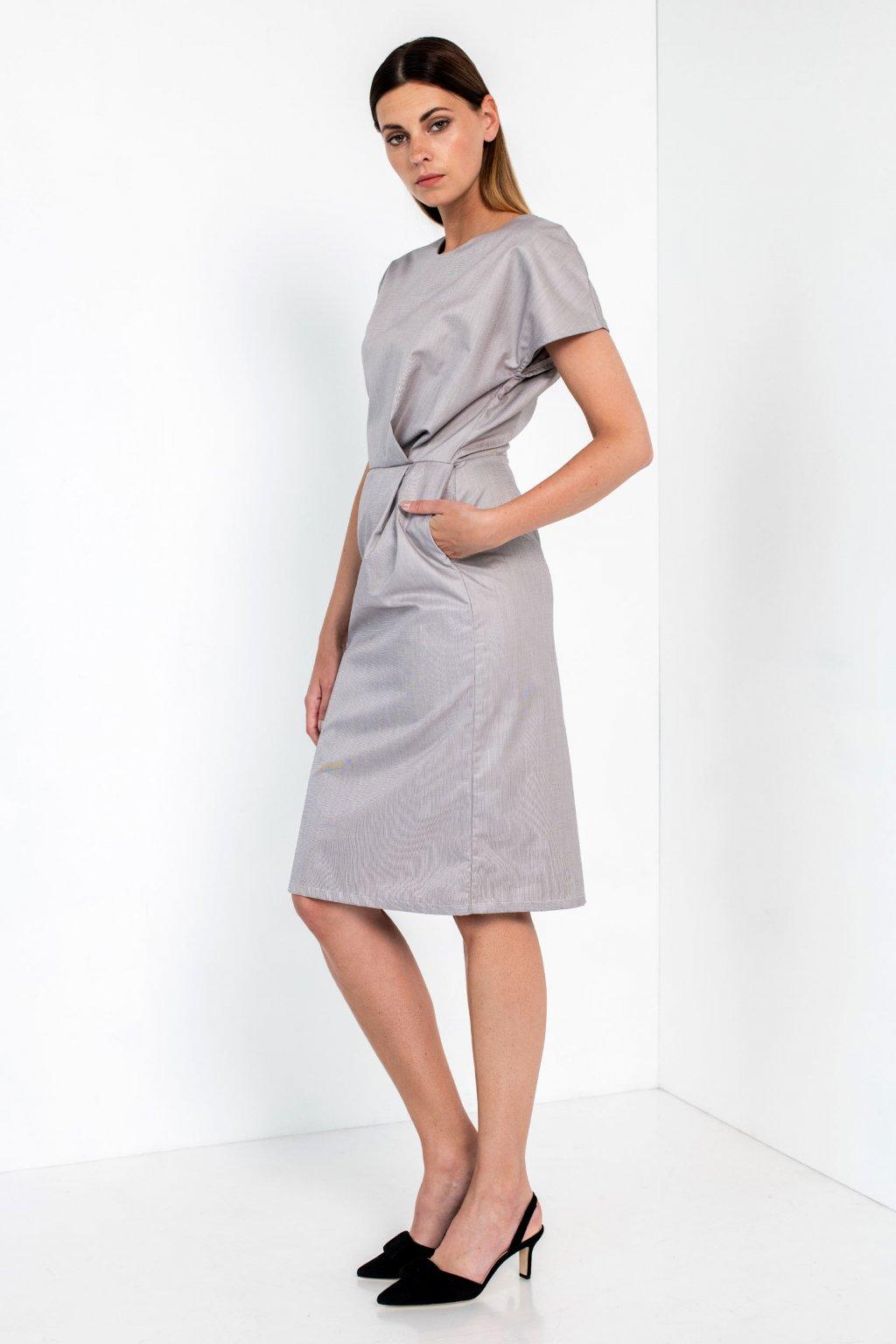 ZIK Šaty so záhybmi v páse (2)